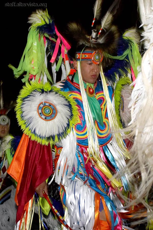 Cree Indian dancer